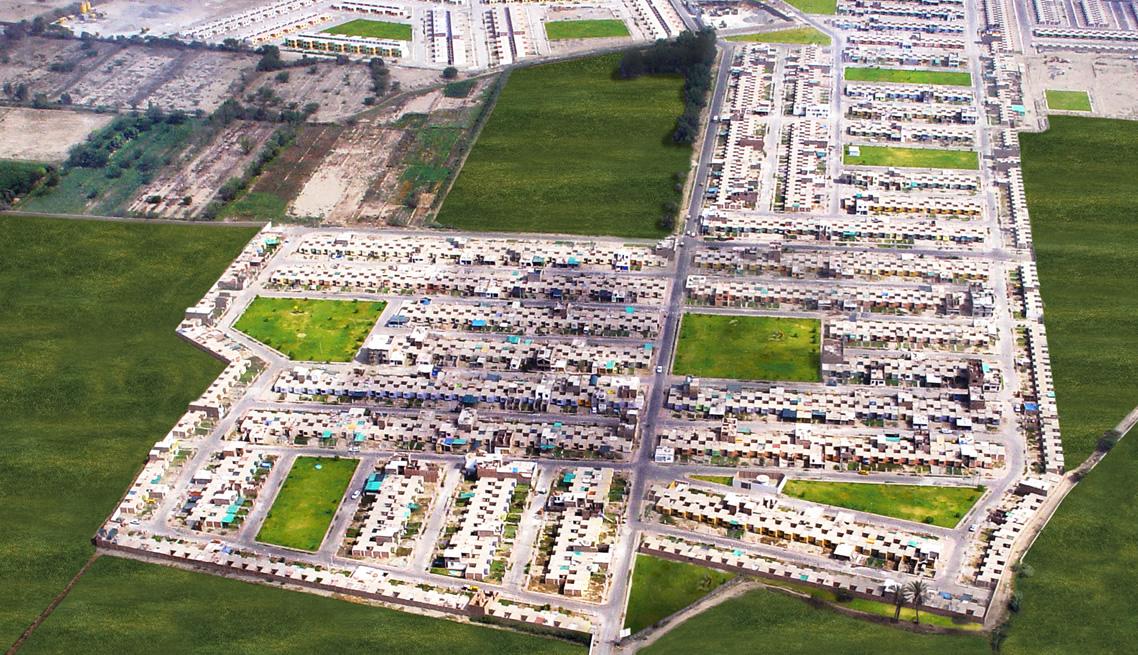 Urbanización Residencial Las Casuarinas de Ica – Vista aérea