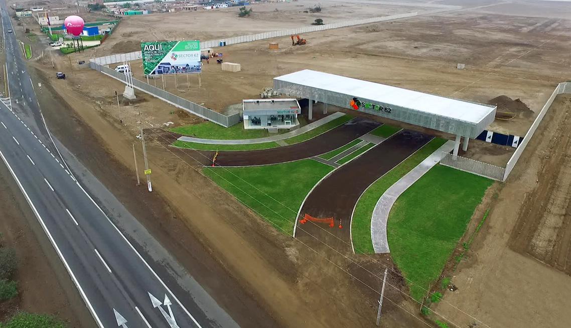 Habilitación Urbana Industrial Sector 62 – Chilca