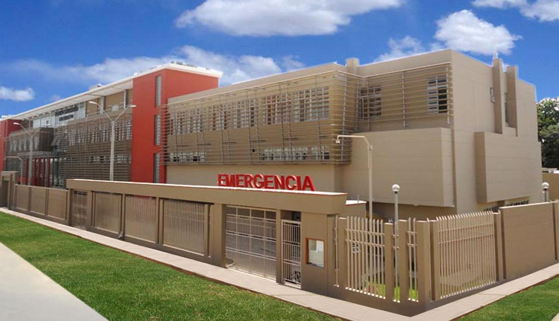 Reconstrucción de la Infraestructura y Mejoramiento de los Servicios de Salud del Hospital San Maria del Socorro – Ica